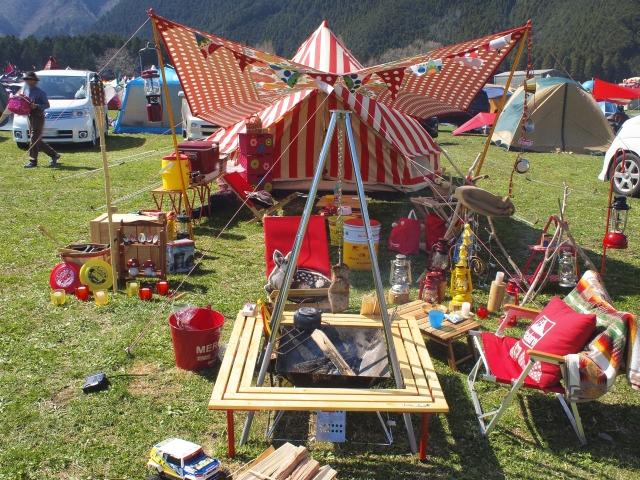 キャンプ野営