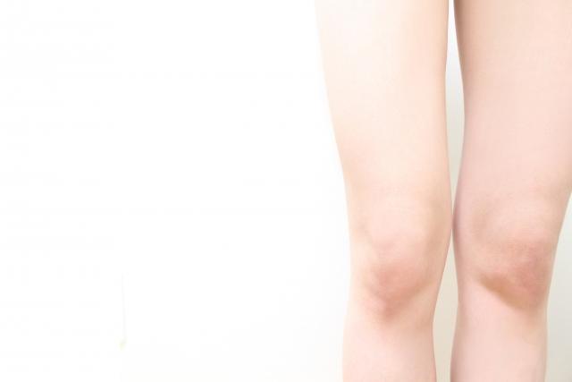 女性の膝痛
