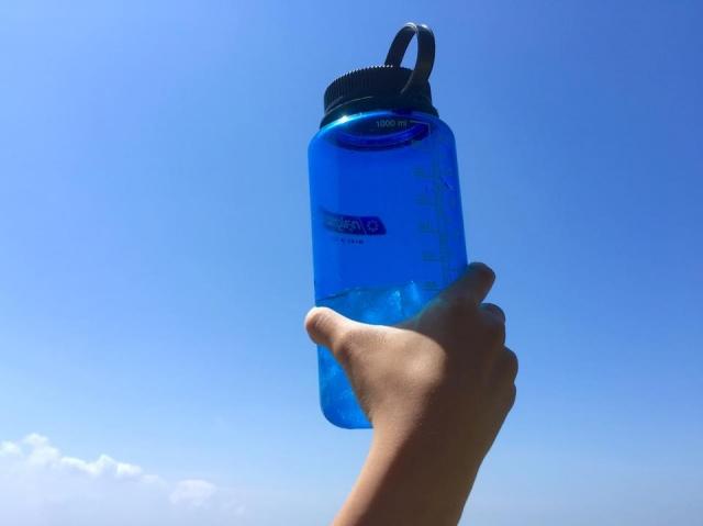 水分補給わすれないように!