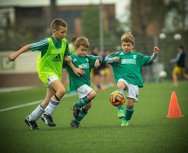 子供人気のサッカー!