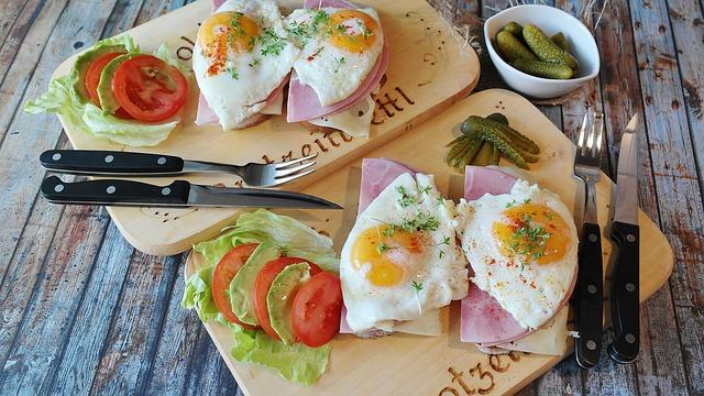 糖質制限ダイエット朝食例!
