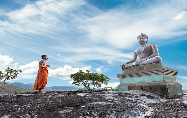 仏教徒との関わり