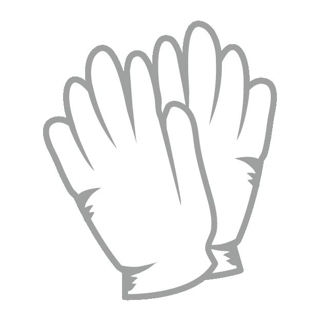 ウグイス嬢白い手袋