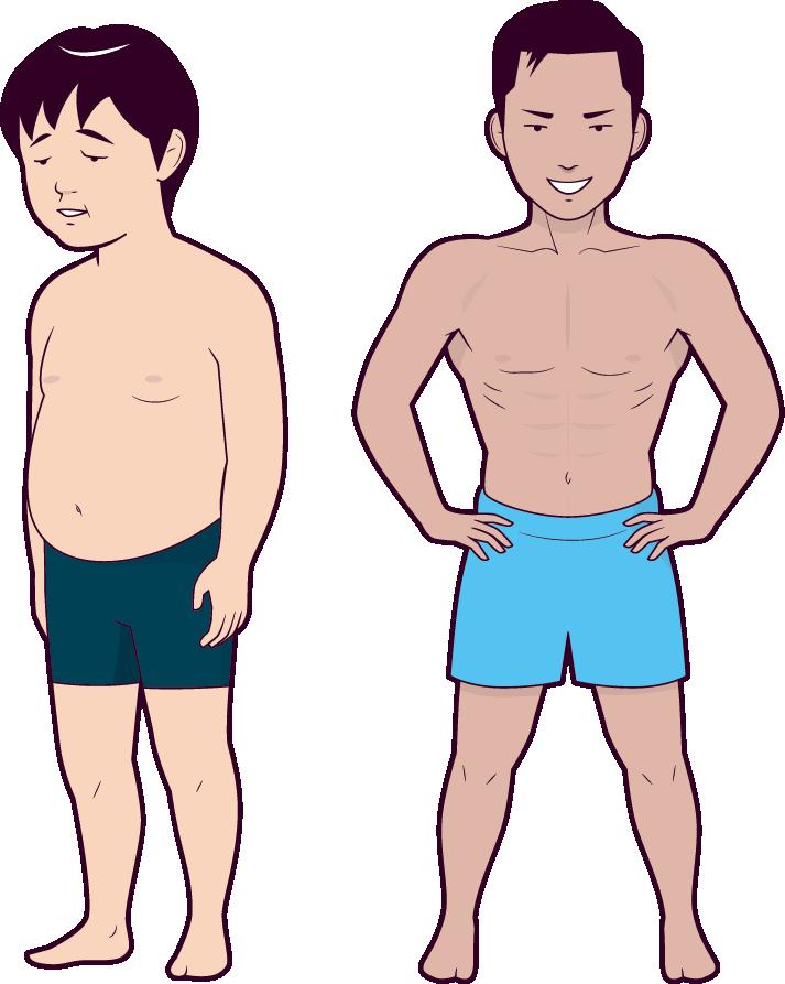 断食のカラダの変化